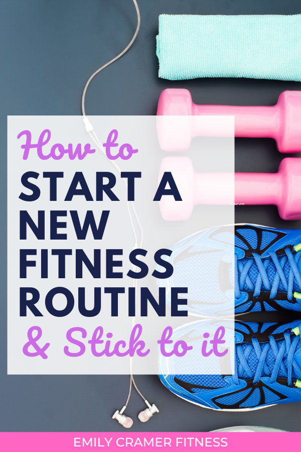 Trying to start a new workout routine? These 9 tips will help you stay accountable and truly commit...