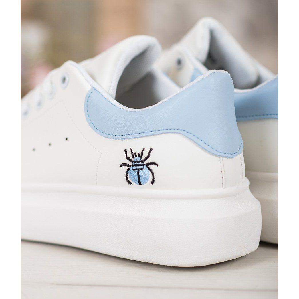 Kylie Modne Buty Sportowe Biale Adidas Stan Smith Adidas Stan Shoes