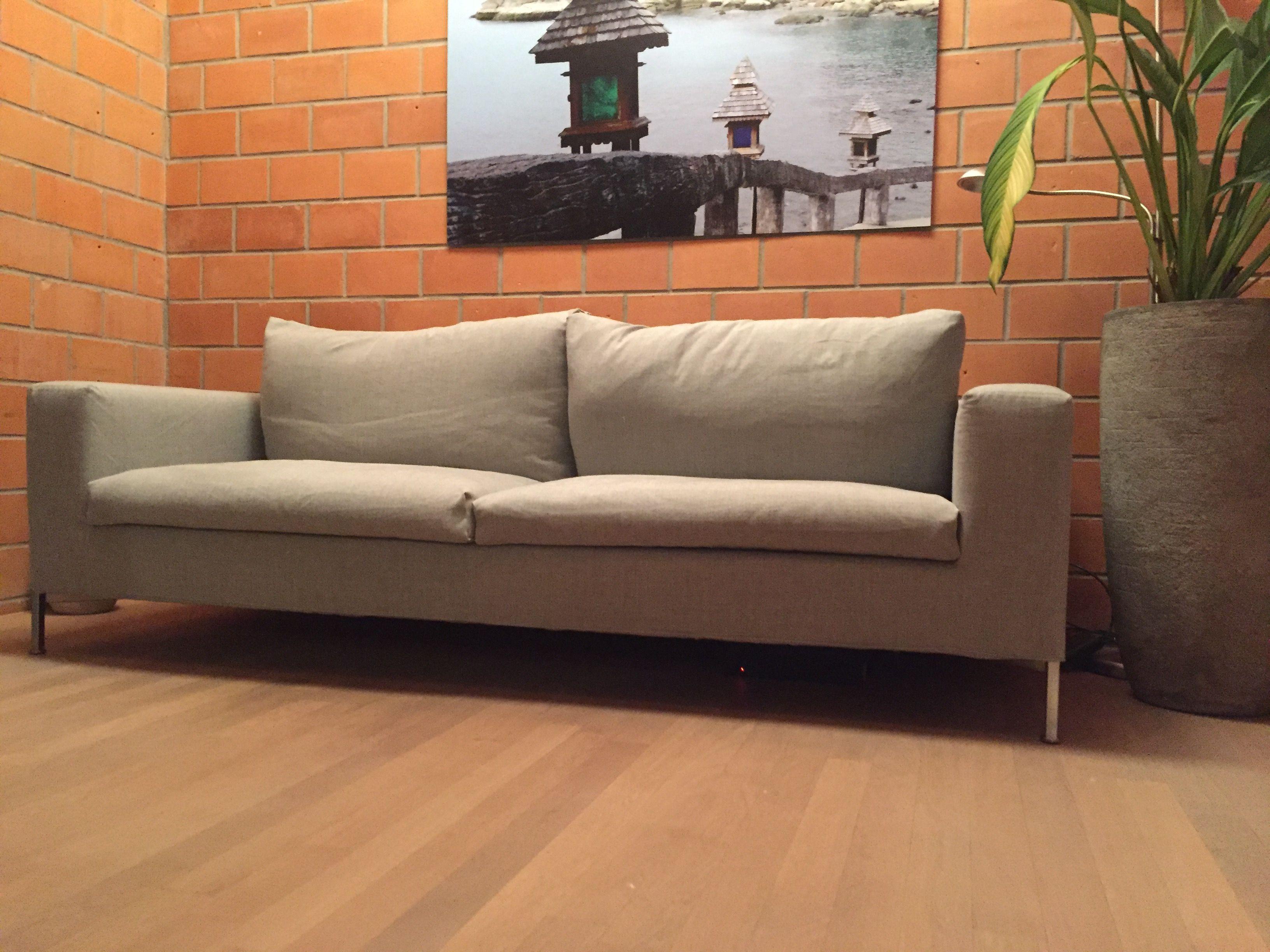 Living Divani Box Sofa neuer Stoff Bezug wohnideeluzern