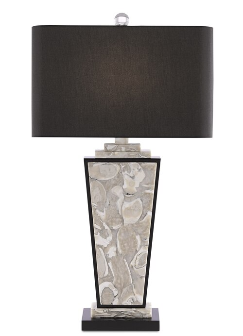 Patrova Oyster Shell Table Lamp In 2020 Lamp Table Lamp Optic