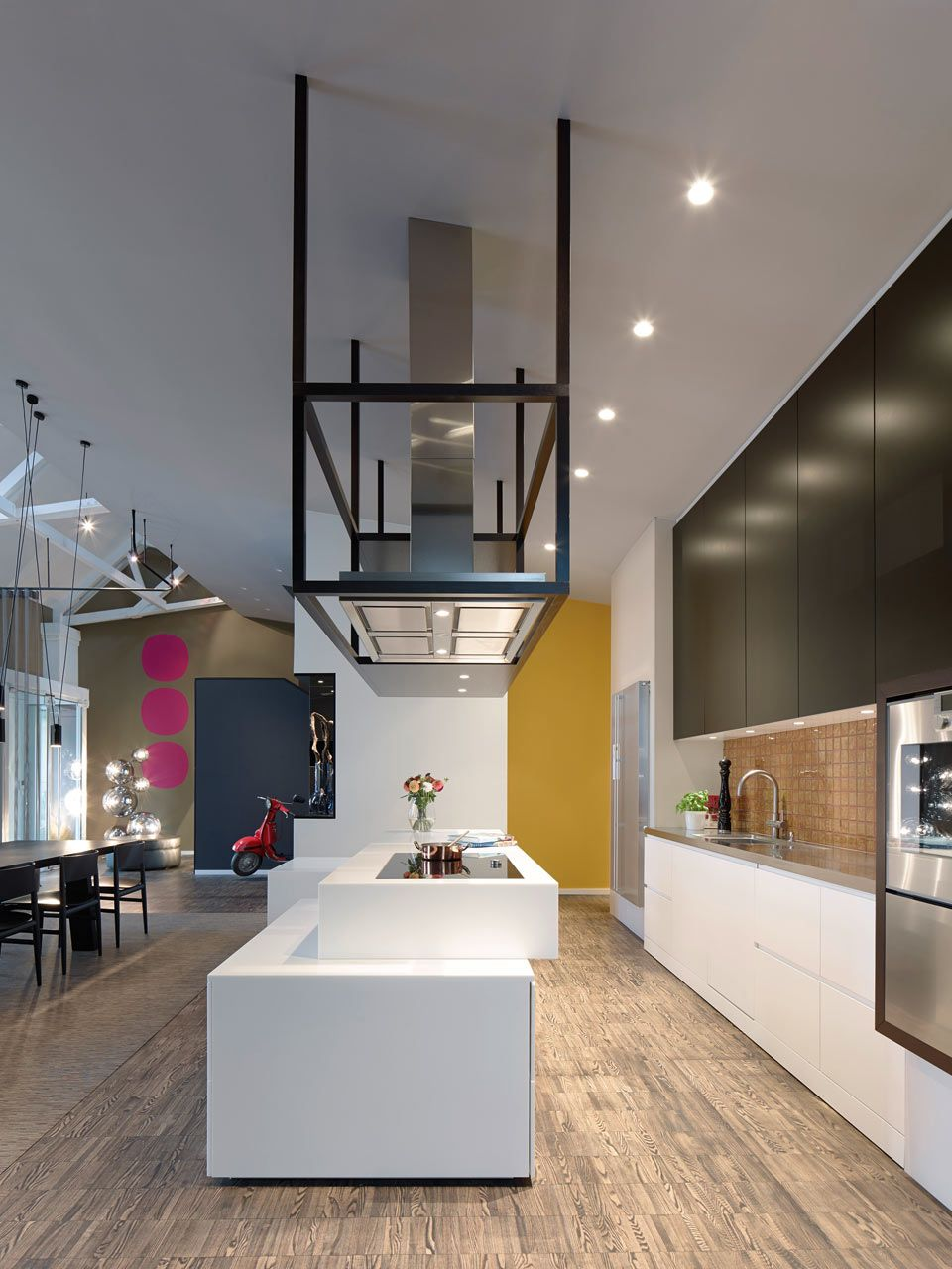 Loft Esn Ippolito Fleitz Group 4 In 2018 Kitchen Loft Cuisine