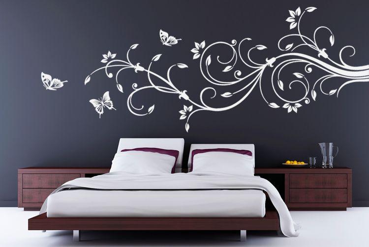 pin von dubistamarsxh auf wohnzimmer pinterest wohnzimmer wandtattoo und blumen. Black Bedroom Furniture Sets. Home Design Ideas