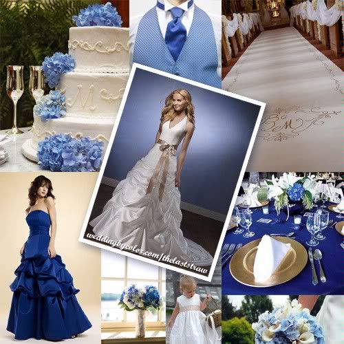 Wedding Update 1 Royal Blue Wedding Wedding Colors Gold