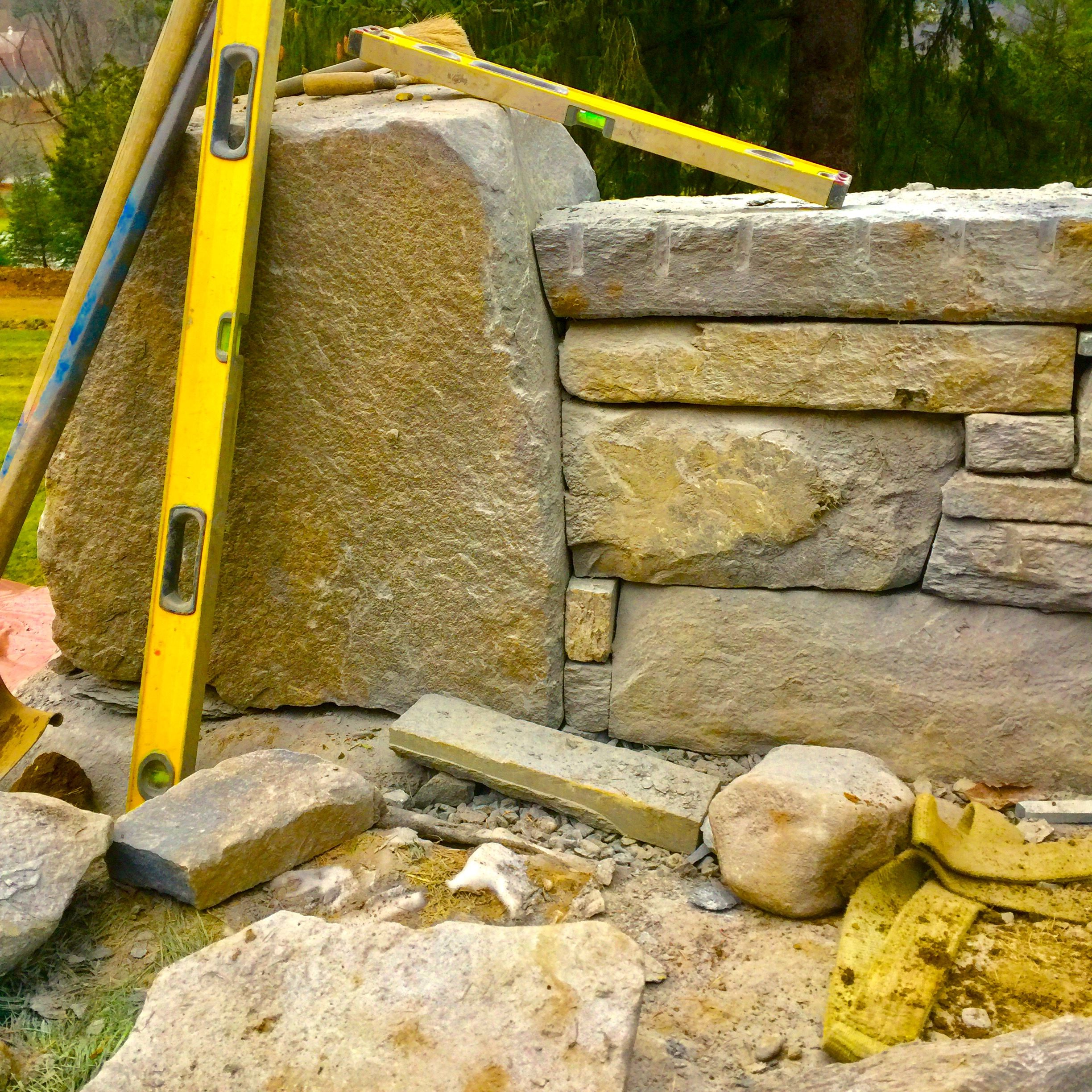Pin by Hector Santos on Stone Walls, Garden Walls, Sculpture, and ...