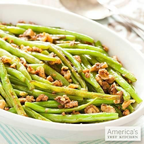 A classic with a spin, our Skillet Green Beans with Spiced Walnuts is a great side-dish.