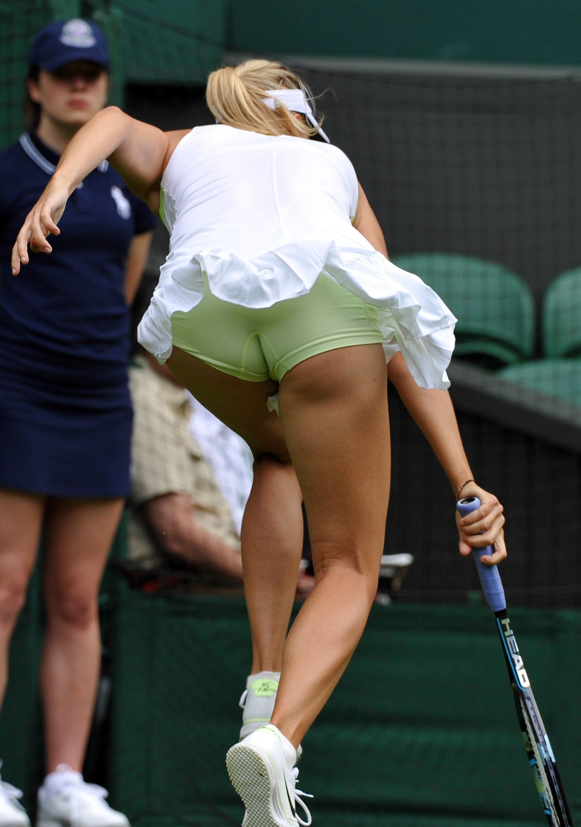 Tennis Upskirt Panties 2