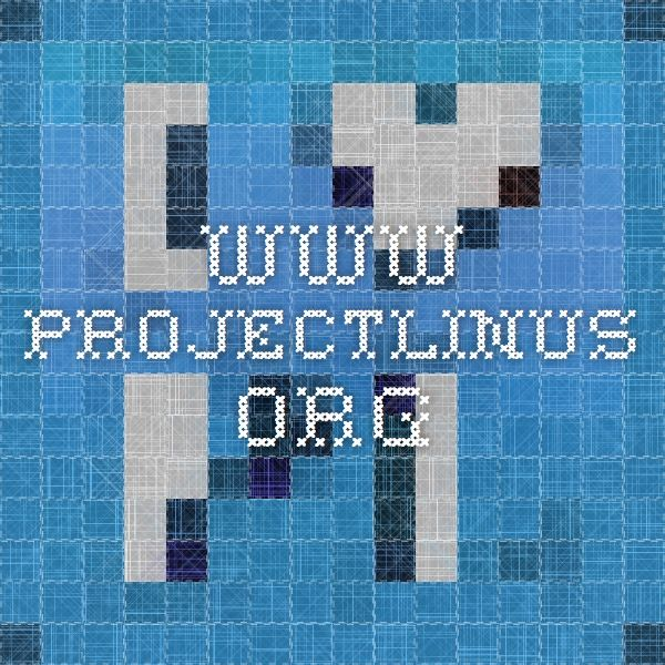 Www Projectlinus Org Service Projects For Kids Projects Pattern