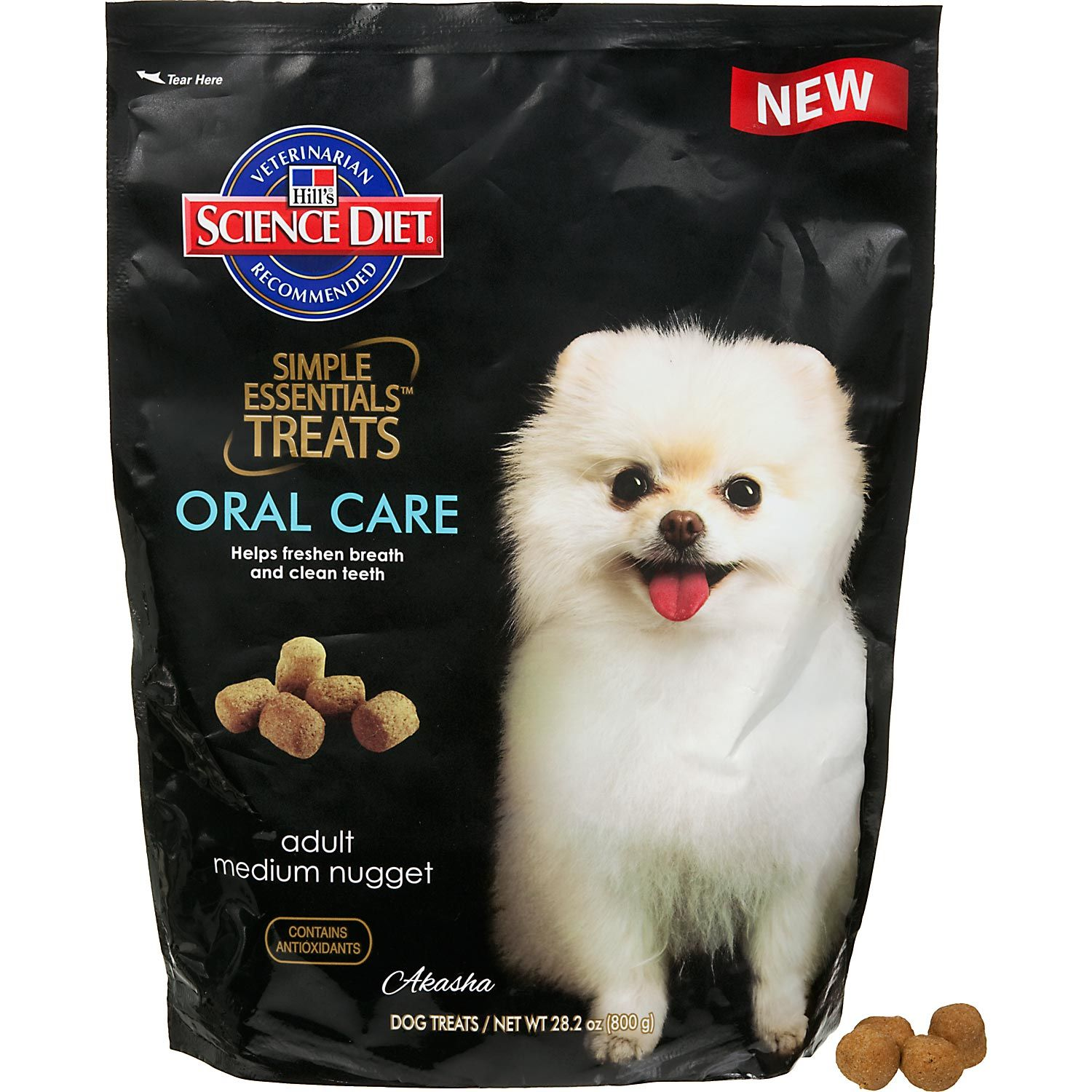 Hill S Science Diet Simple Essentials Oral Care Dog Treats Hills Science Diet Science Diet Oral Care