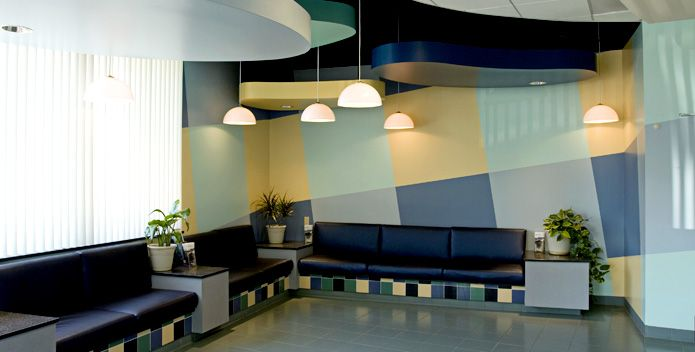 cool modern lobby veterinary spaces and places home