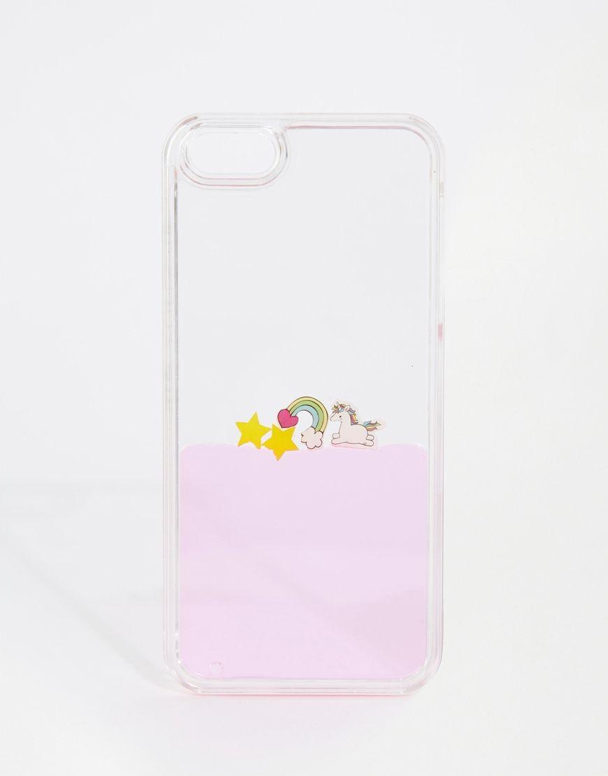 coque iphone 6 liquide avec licorne