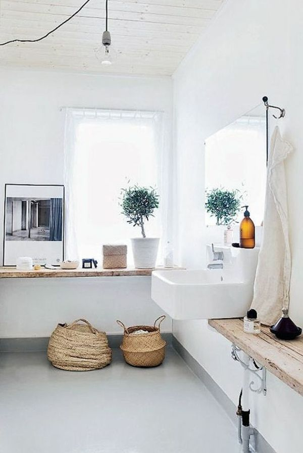 Fotos Badezimmergestaltung rustikale badezimmergestaltung holzwaschbeckentisch bathroom