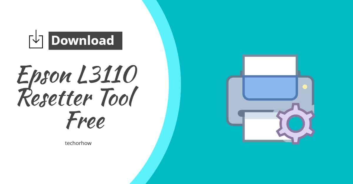 Download Epson L3110 Resetter Tool To Fix The Waste Ink Pad Counter Issue In Epson Printers No Need To Buy A License It Already Co Epson Ink Pad Epson Printer