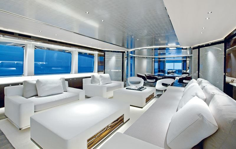 m/y satori yacht _ interior design by remi tessier _ | float on, Innenarchitektur ideen