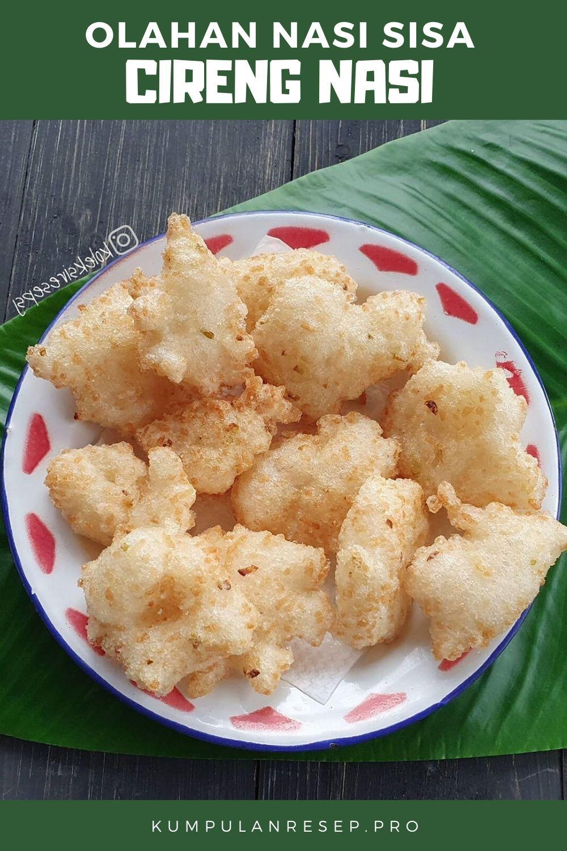 Cireng Nasi Resep Makanan Resep Makanan