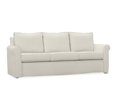 Cameron Eco Roll Arm Slipcovered Sofa #potterybarn