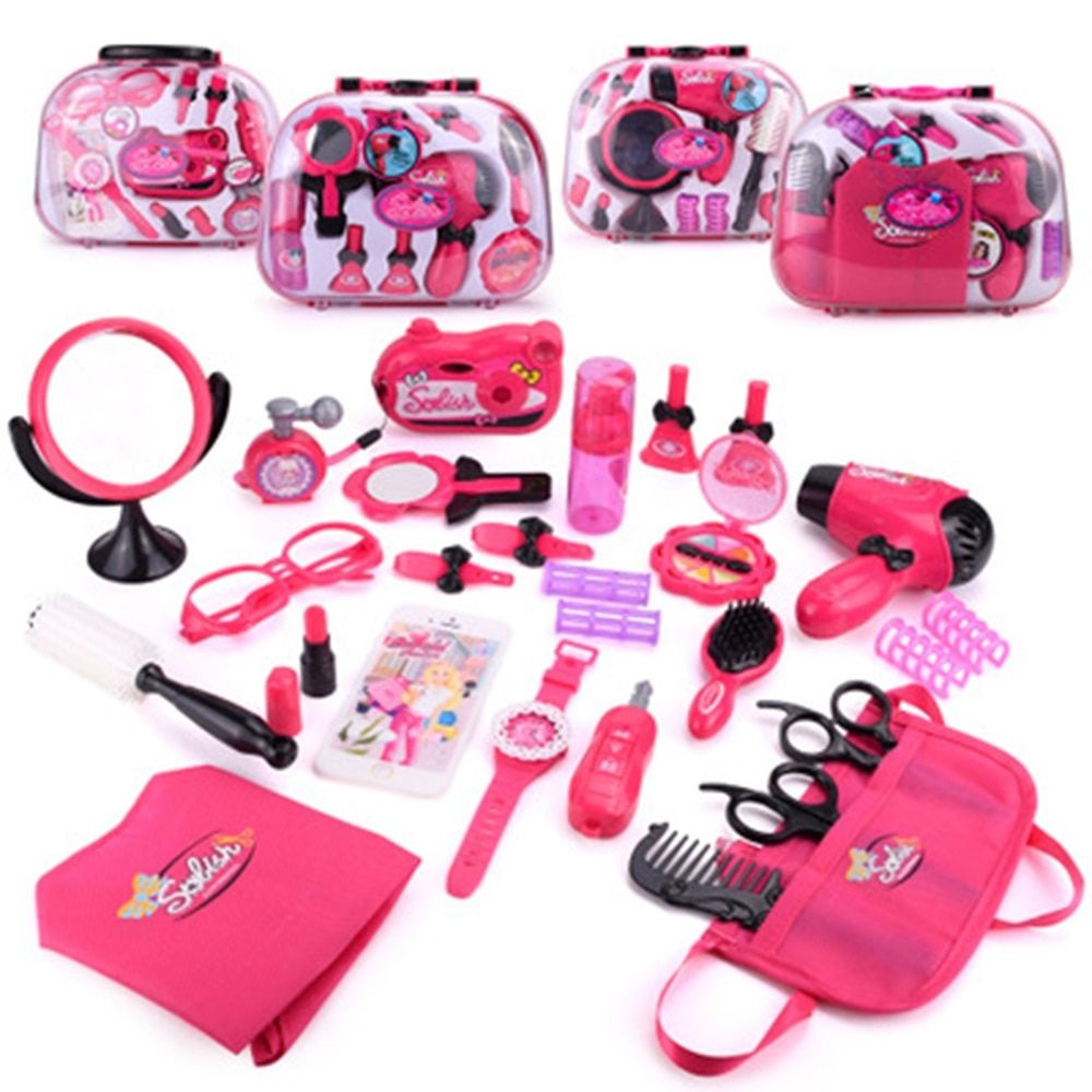 Girls Make Up Set Toys Pretend Play Simulation Cosmetic