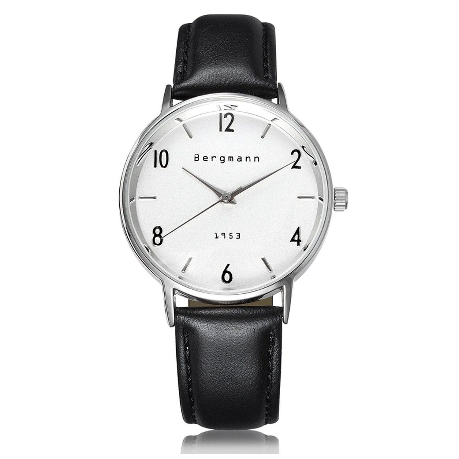 index classic white products watches watch trouvaille gents dial black leather band