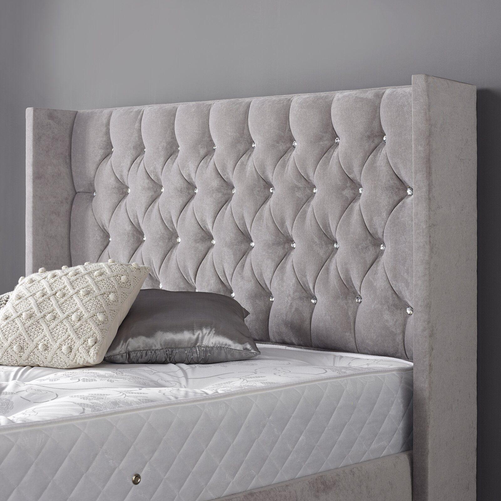 Rosdorf Park Ashleigh Upholstered Bed Frame Wayfair.co