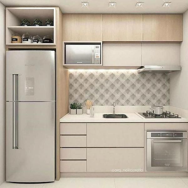 Modern Small Space Small Kitchen Design Ideas