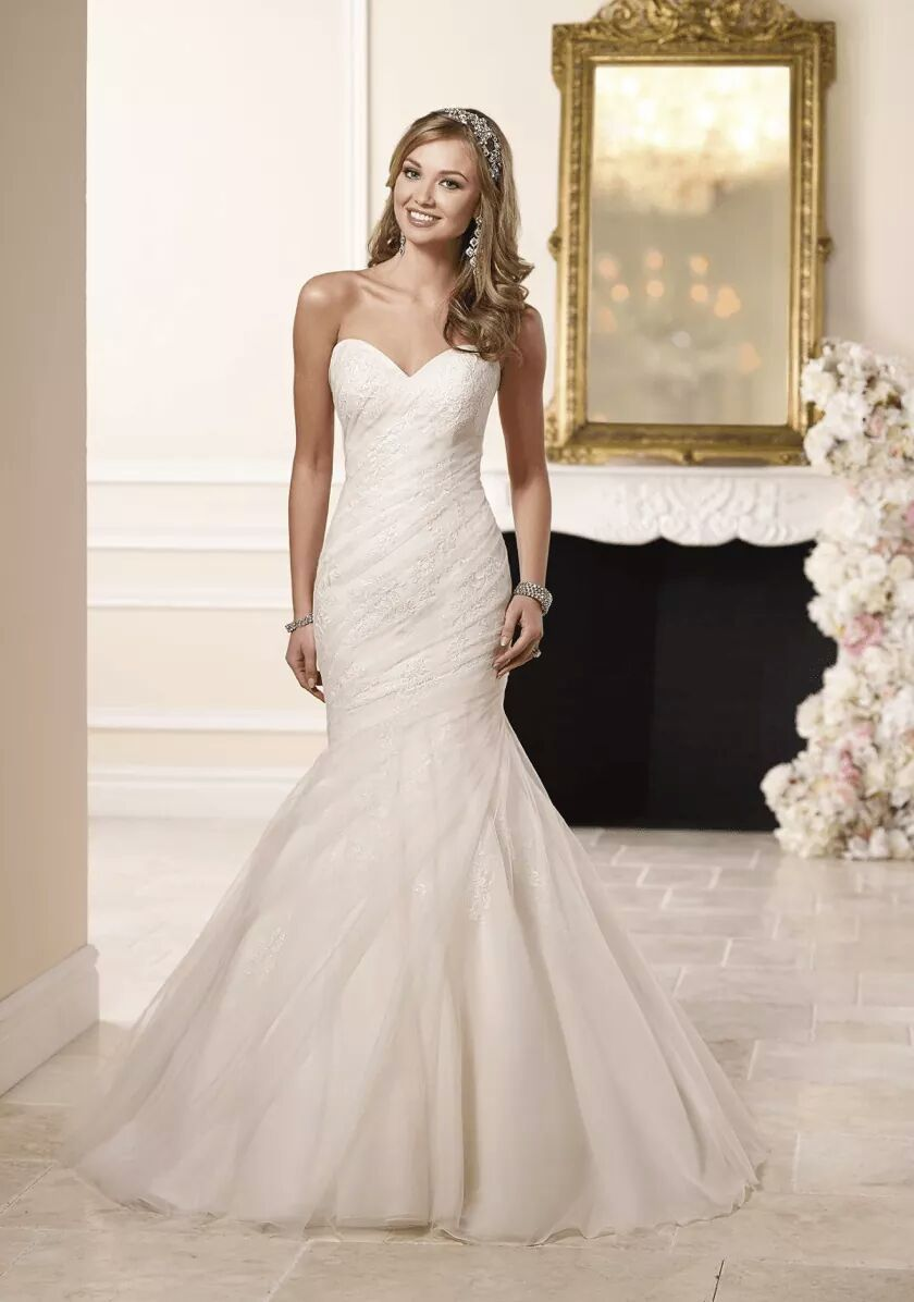 Stunning Mermaid Wedding Dresses To Show Off Your Body