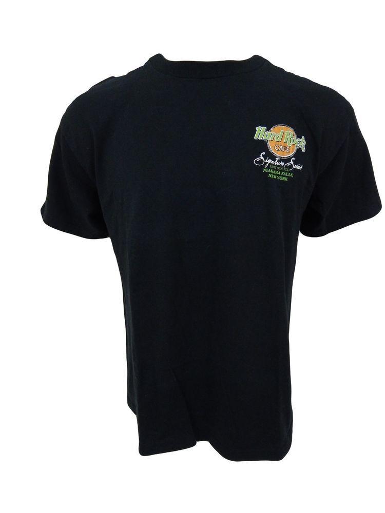 Hard Rock Cafe Niagara Falls Shirt Size L Signature Series Bruce Springsteen #HardRockCaf #GraphicTee