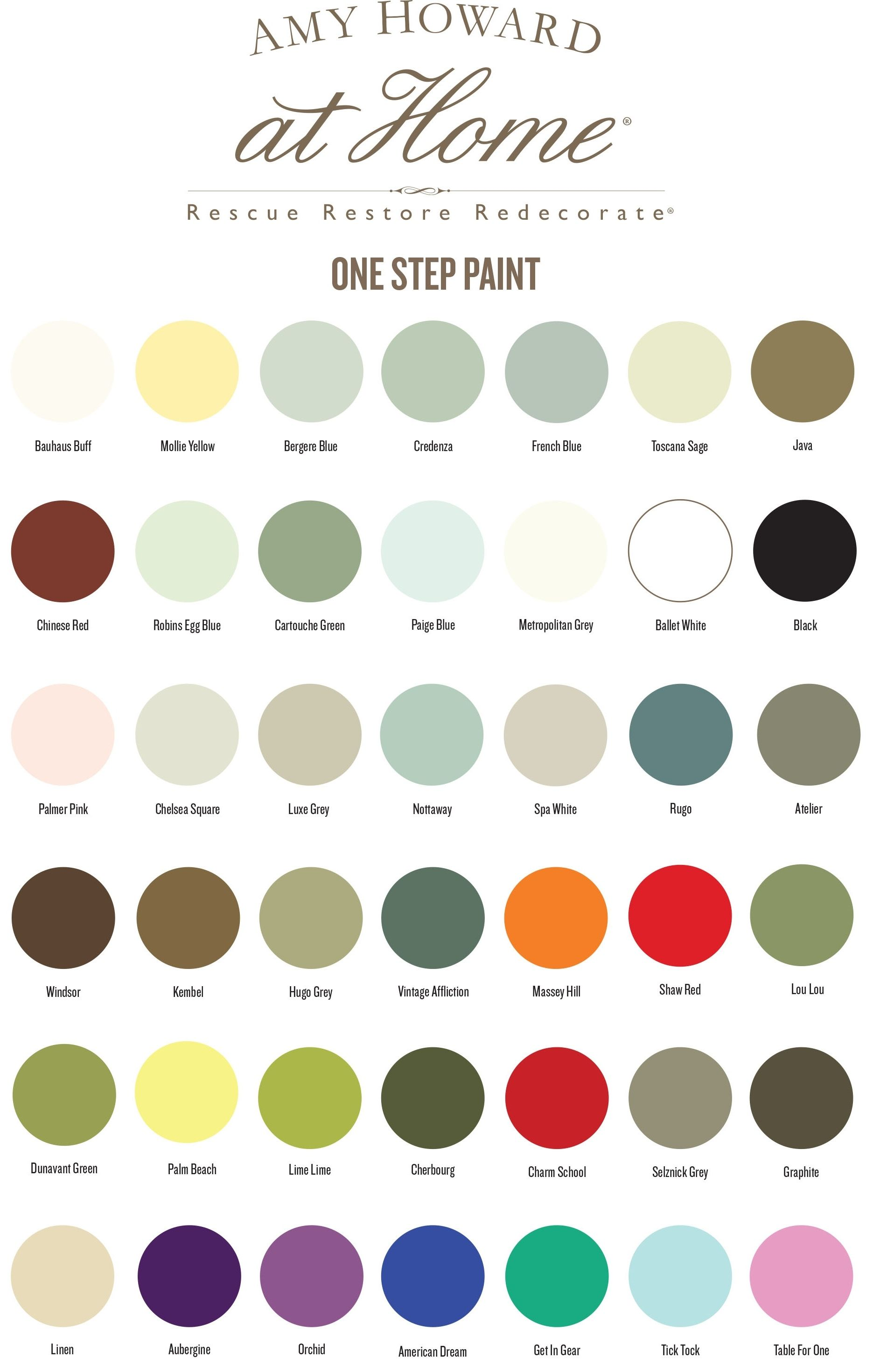 Amy Howard Chalk Paint In 42 Beautiful Shades Chalk Paint Colors Furniture Amy Howard Chalk Paint Chalk Paint Furniture