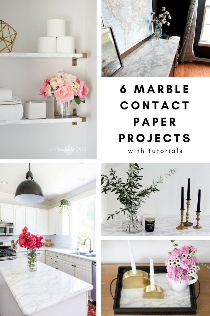 The Best Diy Marble Contact Paper Projects With Tutorials Honey