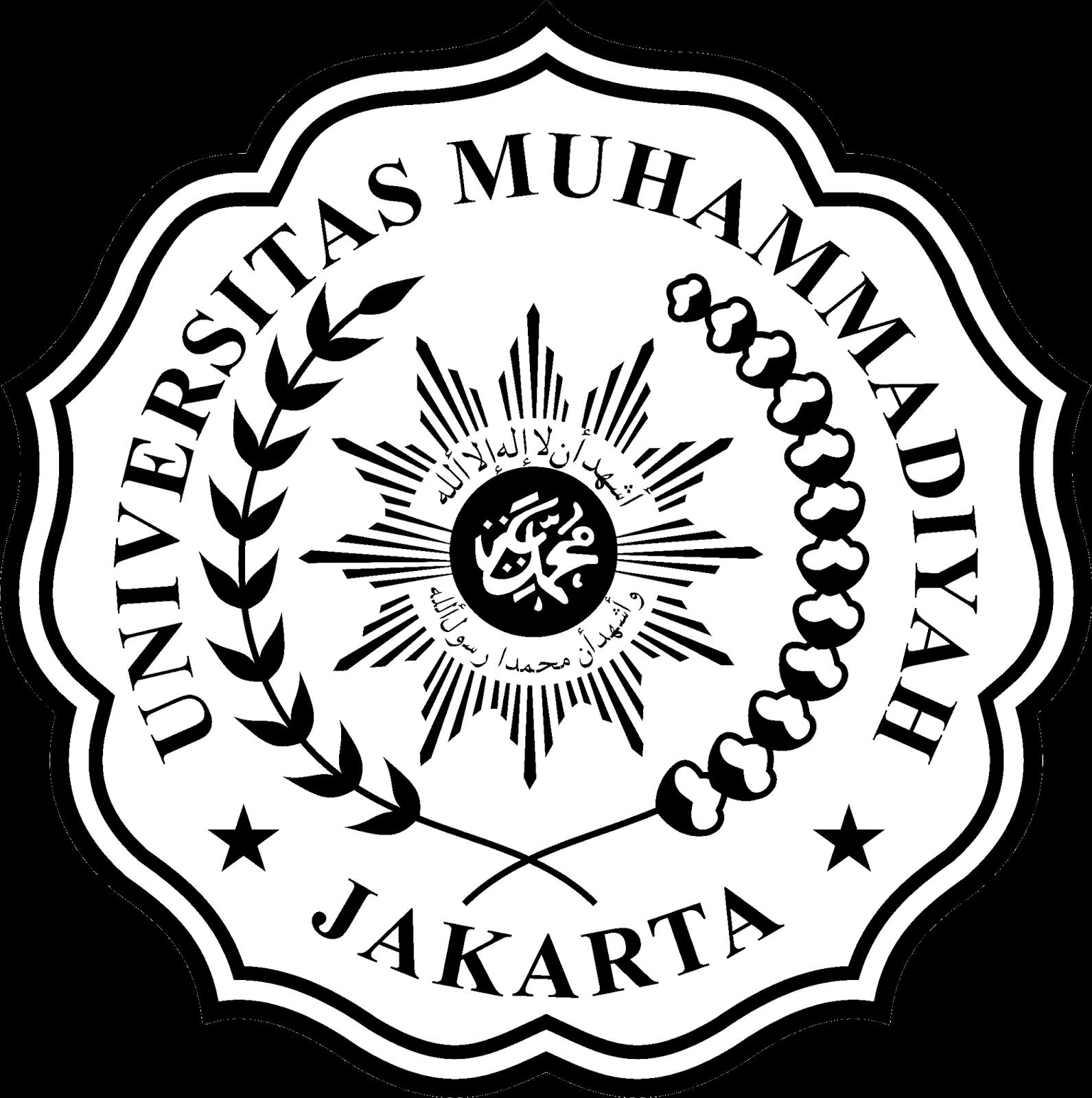 Hasil gambar untuk logo umj hitam putih Hitam, Gambar