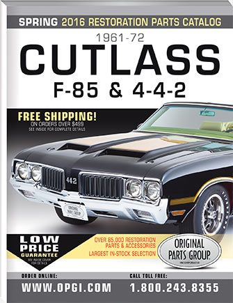 Free 1961 77 Cutlass 442 Hurst Olds Parts Catalog Opgi Com Parts Catalog Oldsmobile Catalog