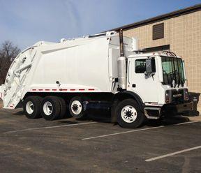 Mack Mcneilus Rear Loader Garbage Truck For Sale Tw1140245rl Trucks For Sale Garbage Truck Trucks