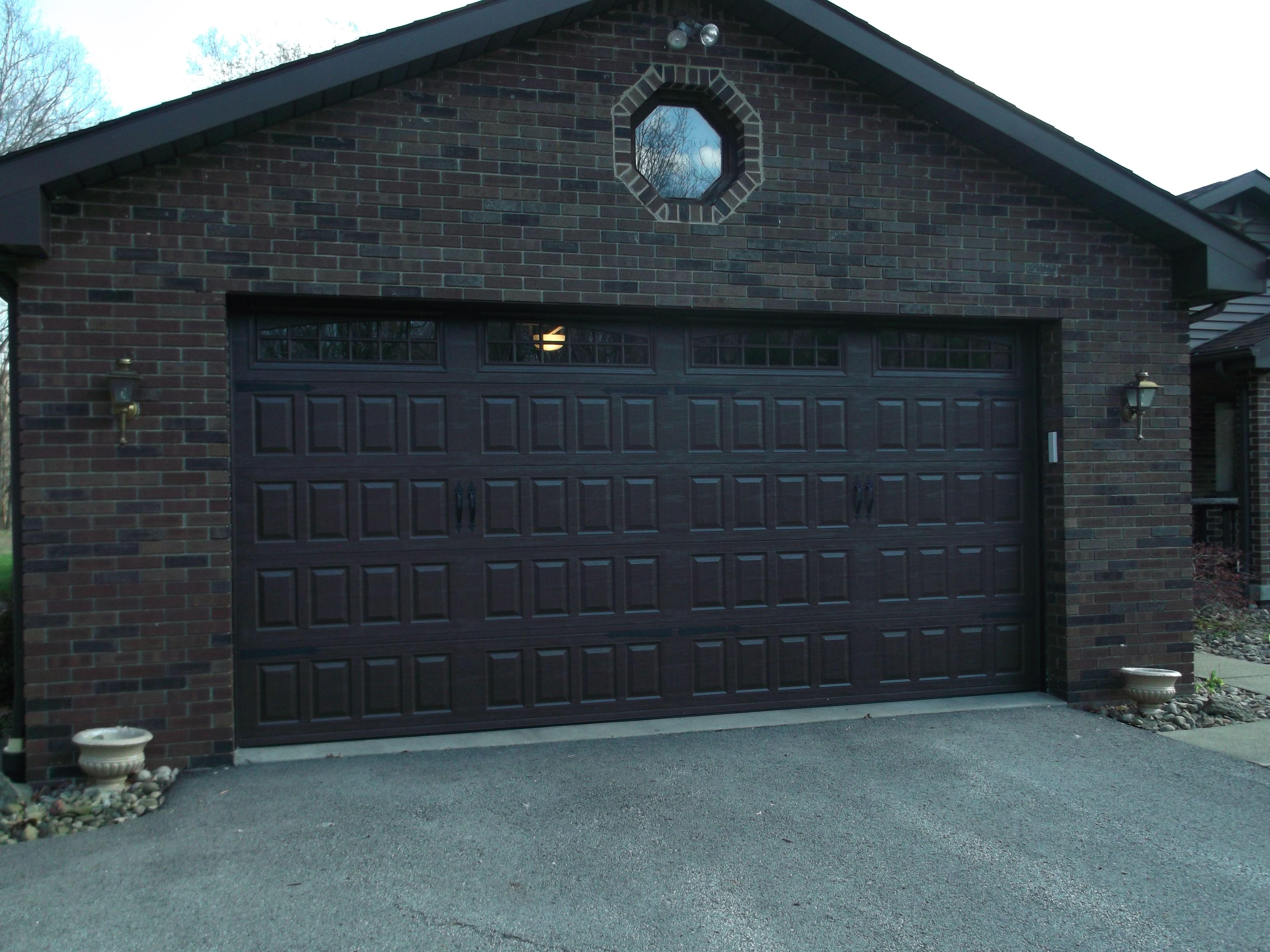 Amarr Designers Choice Raised Panel Garage Door installed