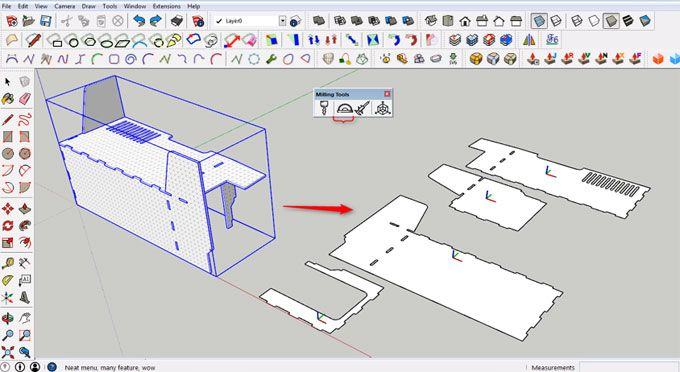Milling Tools The Newest Sketchup Extension Milling