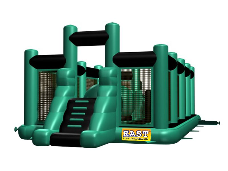 Find inflatable wipe out obstacle yes get what you want