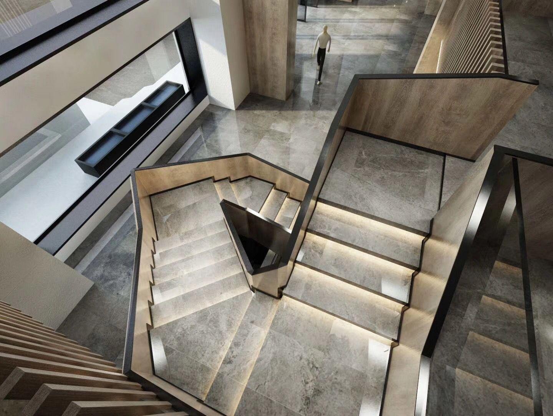 Mrap26 well done lines in 2019 interior staircase - Diseno de escaleras interiores ...