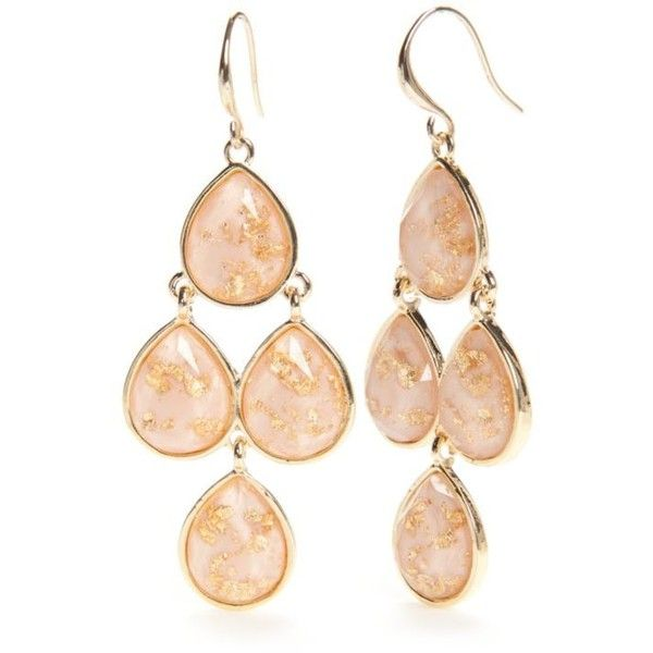 New Directions Nude Gold GoldTone Gold Dust Chandelier Earrings – Gold Tone Chandelier Earrings