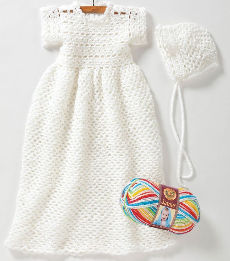 Free Easy to Crochet Christening Gown Pattern