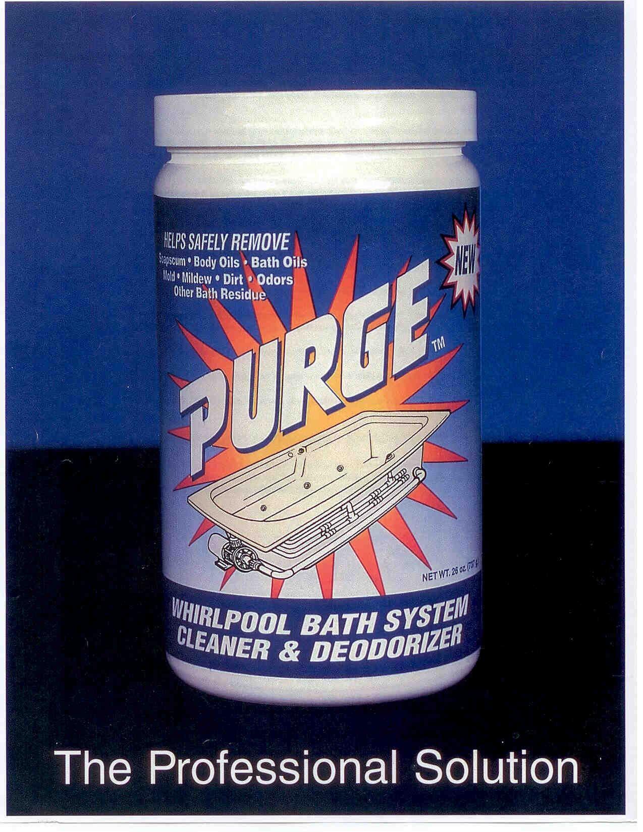 PURGE Whirlpool Bath System Cleaner & Deodorizer\