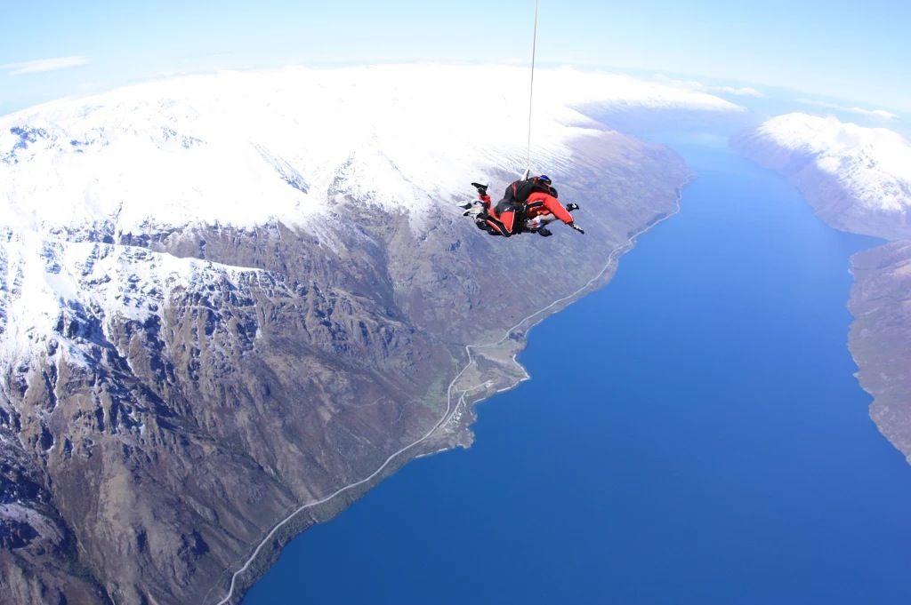 Skydiving in Queenstown, New Zealand New zealand