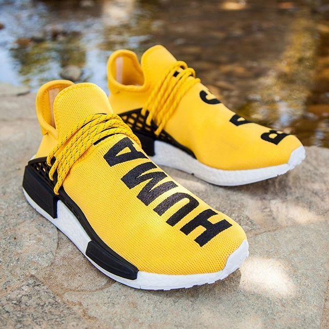 Price Of New Human Race Adidas Hu Yellow Pw Ua Human Race Shoes Sneakers Men Fashion Adidas Fashion Shoes