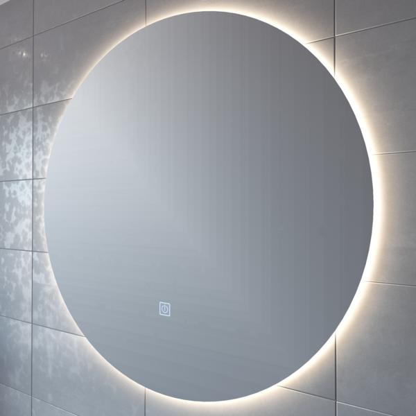 27++ Miroir rond led salle de bain 100 cm inspirations