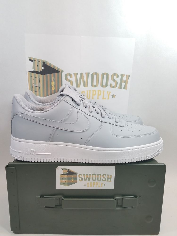 e0e107abe7cf36 Nike Air Force 1 Low  07 Wolf Grey White Mens Sizes AA4083-010  Nike   BasketballShoes