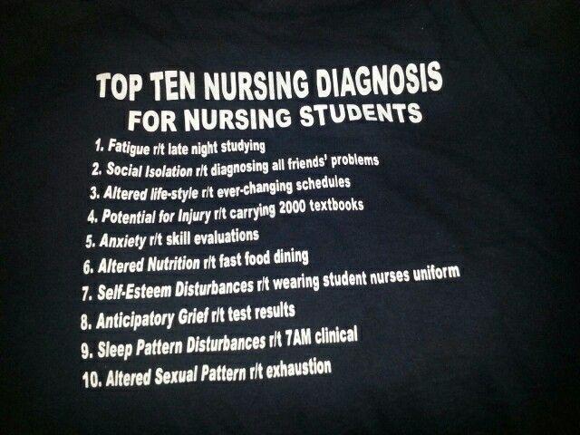 Funny nursing diagnosis | Nursing diagnosis, Nurse quotes ...