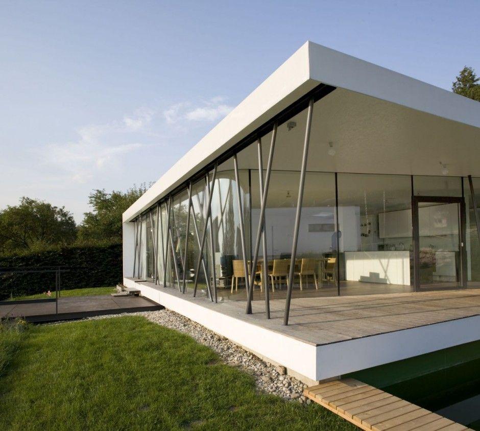 the modern design of house m in austria haus pinterest. Black Bedroom Furniture Sets. Home Design Ideas