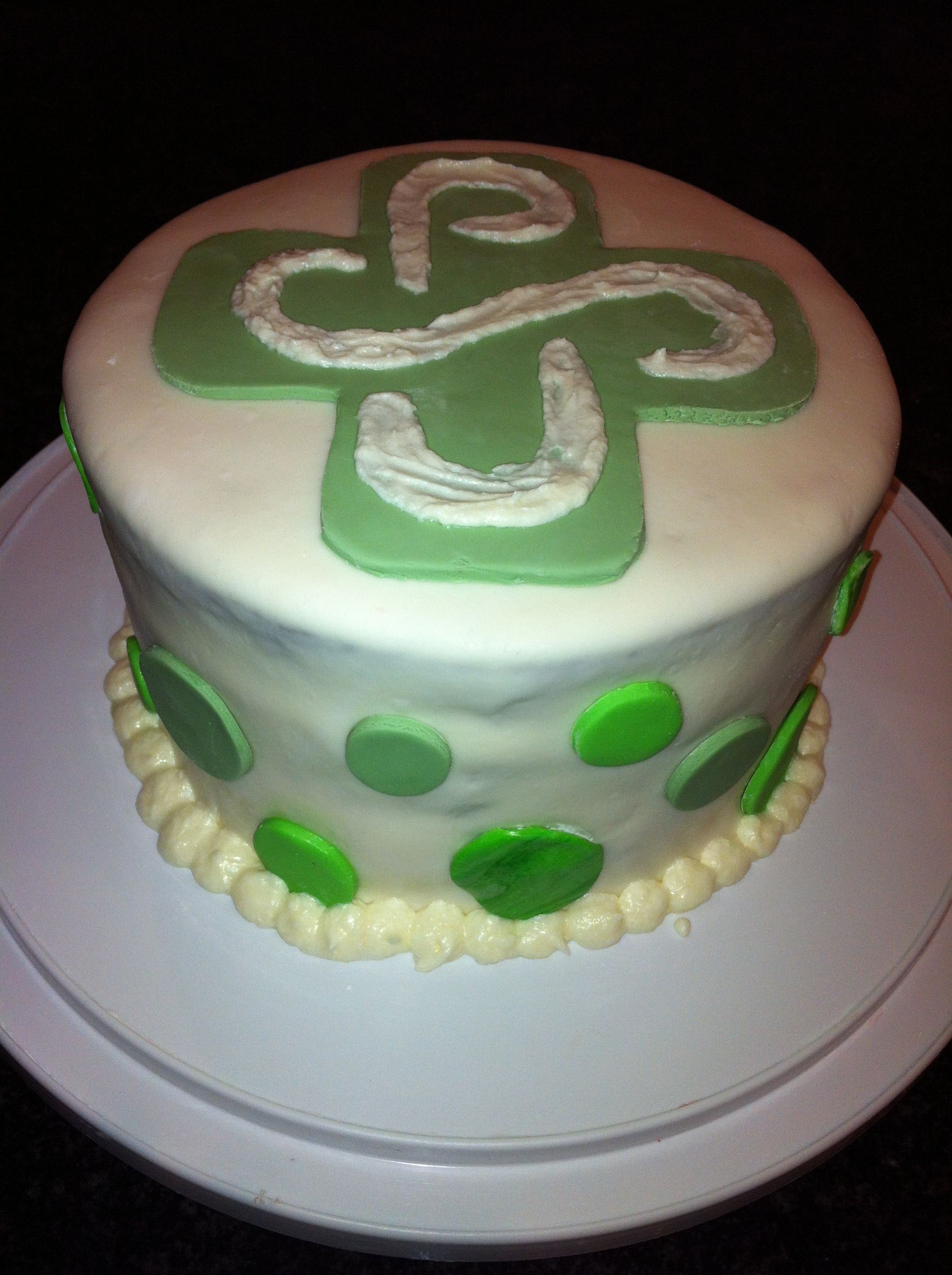 Amazing PSU cake Baby sister inlaws college cake Portland State