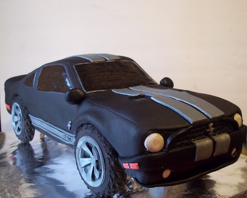Shelby Mustang grooms cake Wedding Cake ideas Pinterest