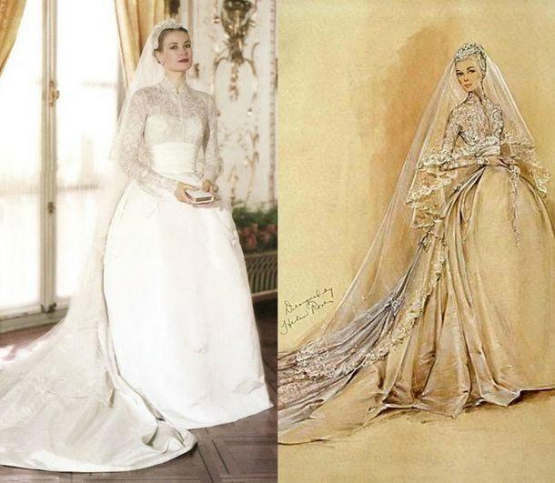 Свадебное платье грейс келли.