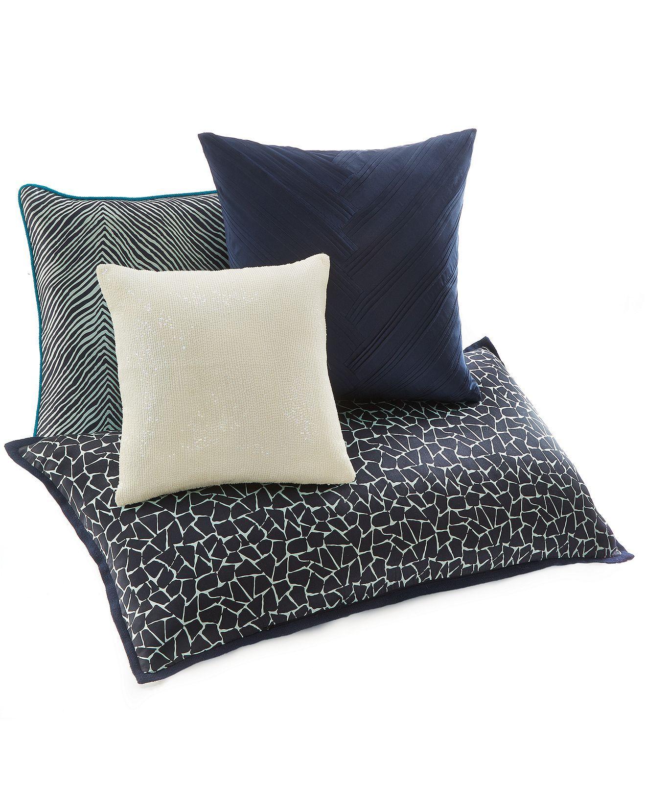 Macys Sofa Pillows Sectional Storage Vince Camuto Devon Decorative Pillow Collection