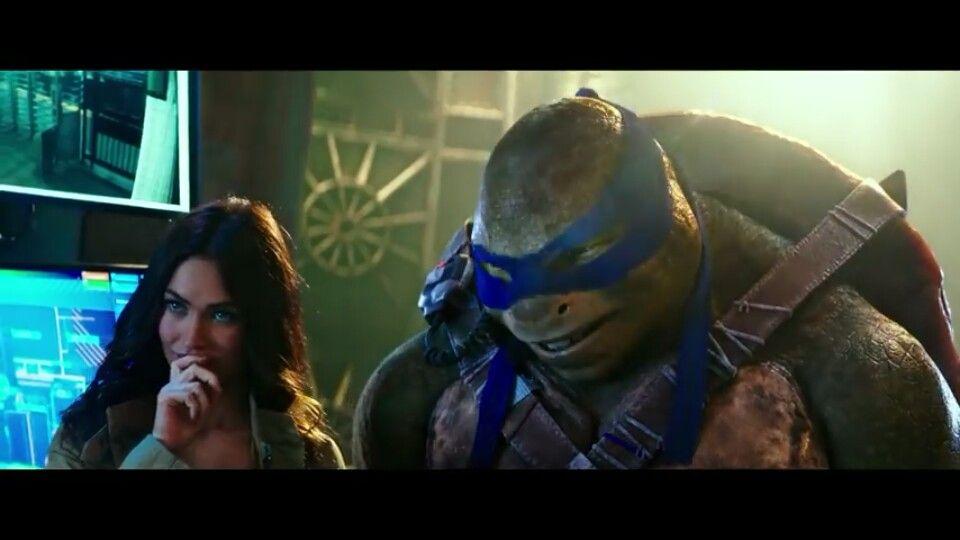 April And Leo Teenage Mutant Ninja Turtles Movie Teenage Mutant