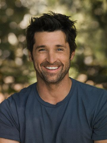 """Patrick Dempsey-- I thought he was awesome when I first saw him in the movie """"Can't Buy Me Love"""". I have been a fan ever since, he has the greatest smile!"""