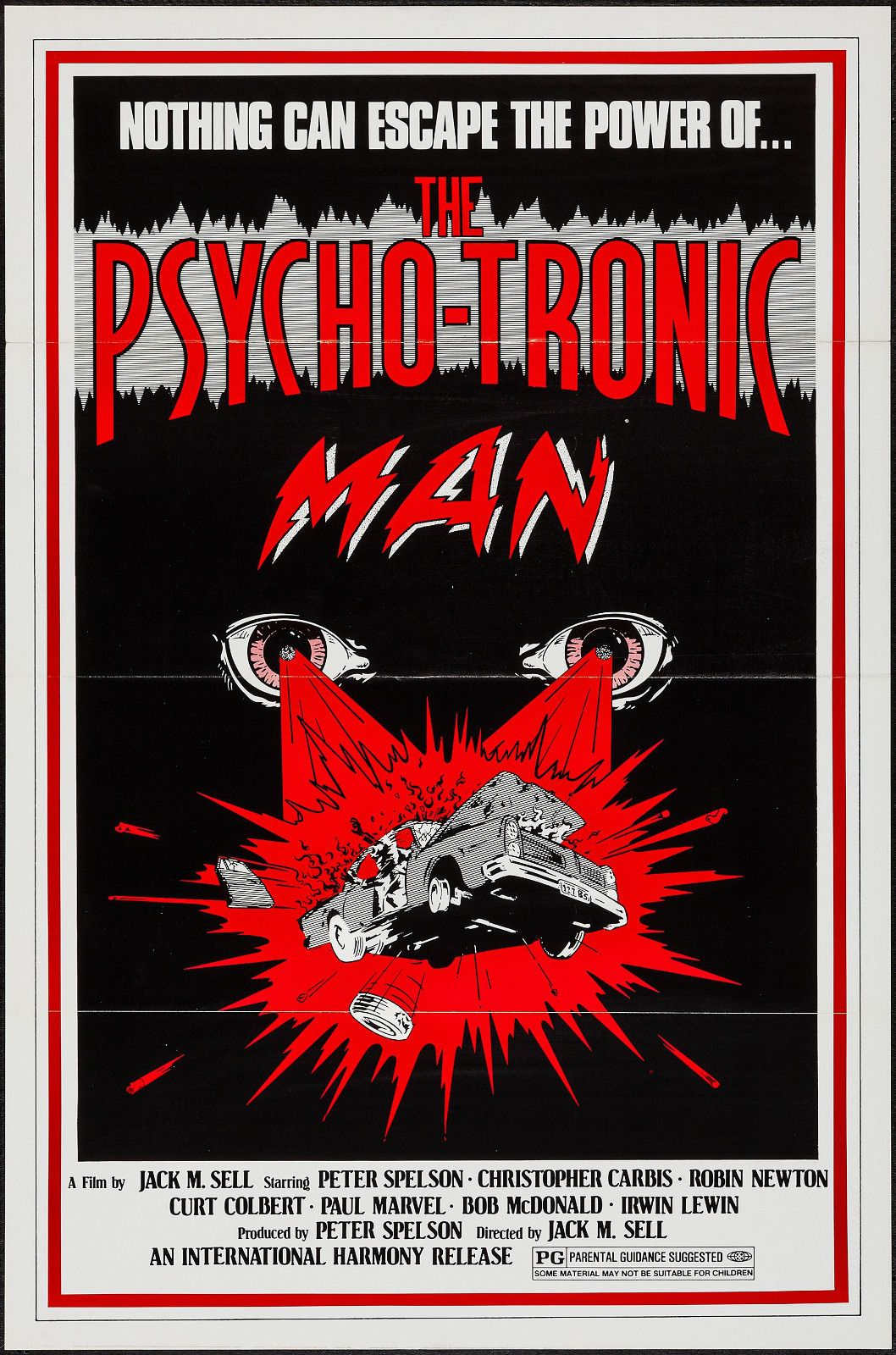 The Psychotronic Man 1979 Movie Posters Movie Posters Vintage